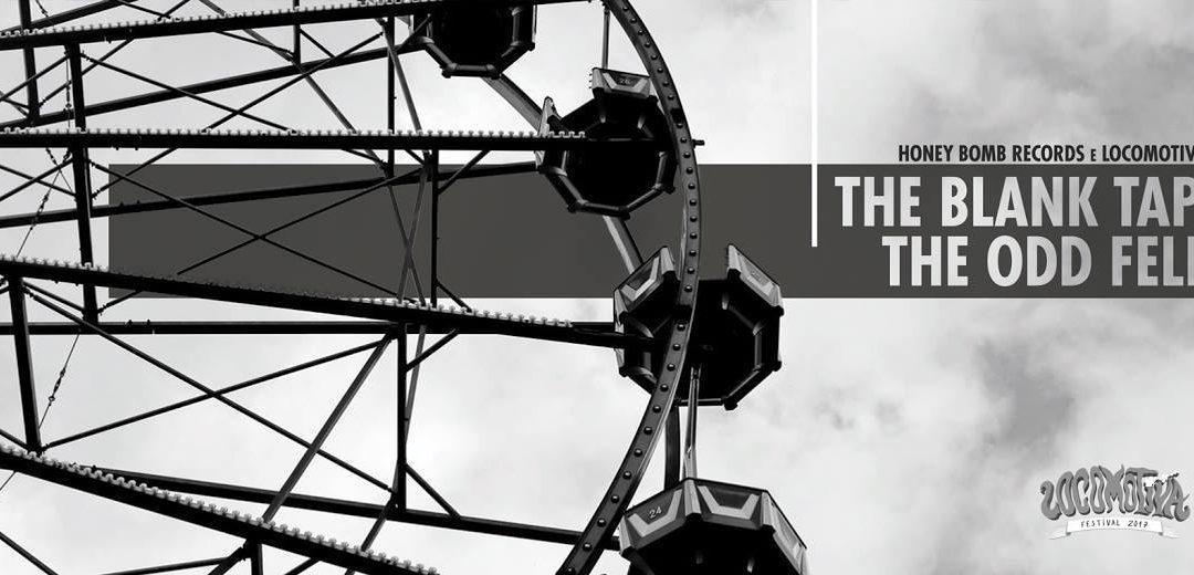 Locomotiva GIG: The Blank Tapes (EUA) e The Odd Fellow 23 de Junho 19h no Casarão Music Studio